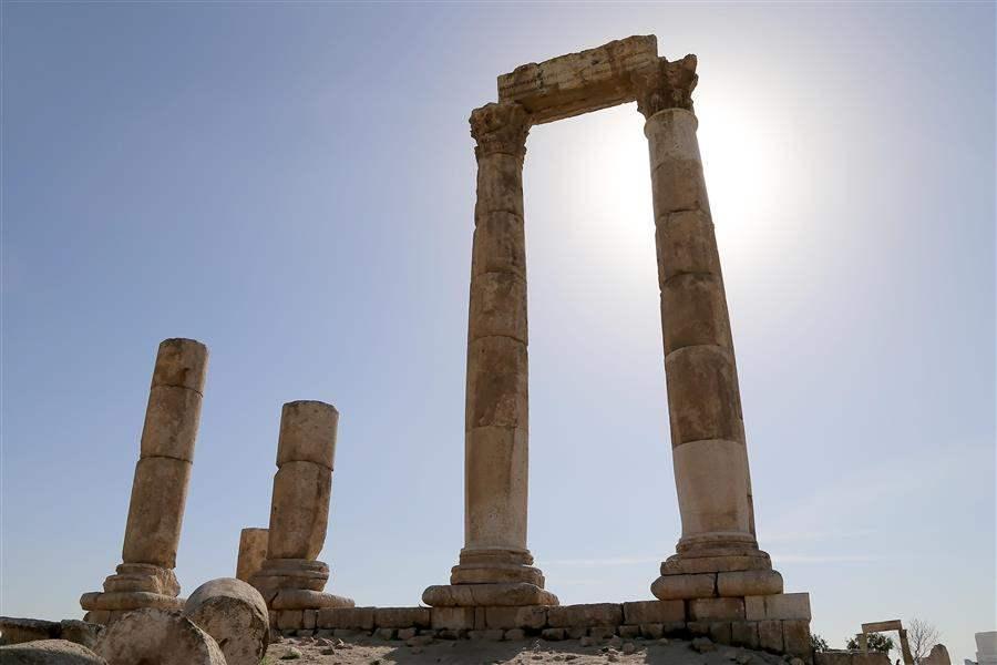 Jordan Amman Temple of Herc 3