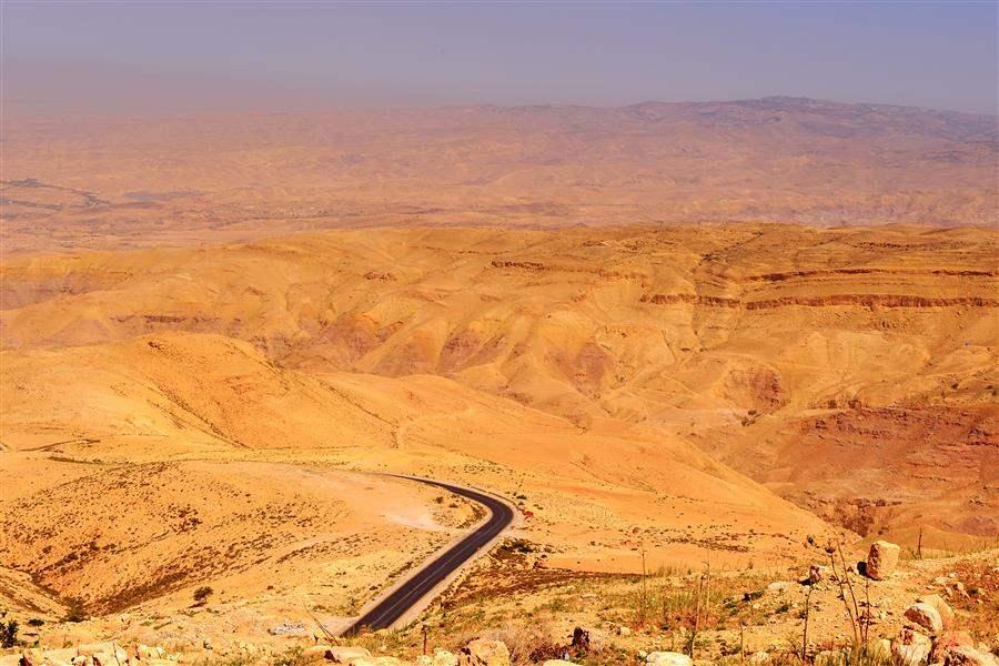 Jordan Amman View from Mount nebo