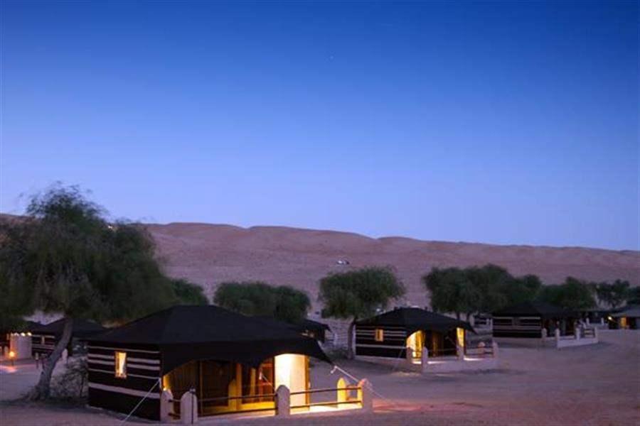 tents at 1000 nts camp Oman