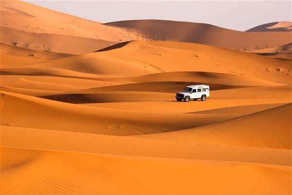 crossing the desert