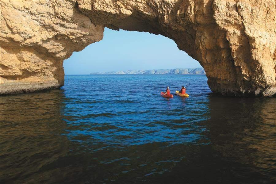 Shangri Las Barr Al Jissah Resort and Spa Al Husn Kayaking