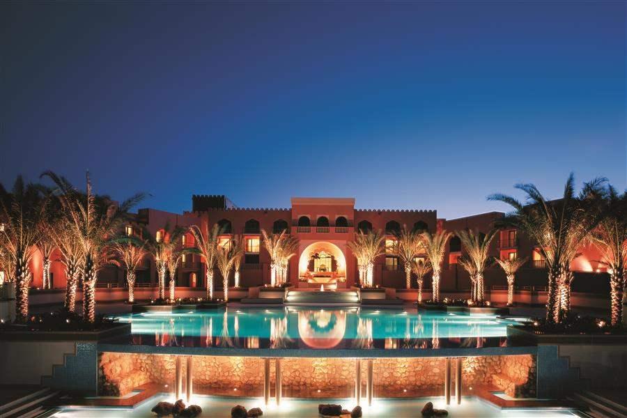 Shangri Las Barr Al Jissah Resort and Spa Al Husn Exterior Evening