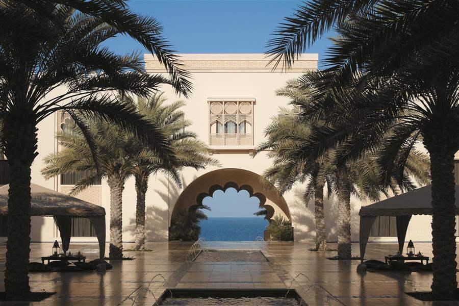 Shangri Las Barr Al Jissah Resort and Spa Al Husn Courtyard Day