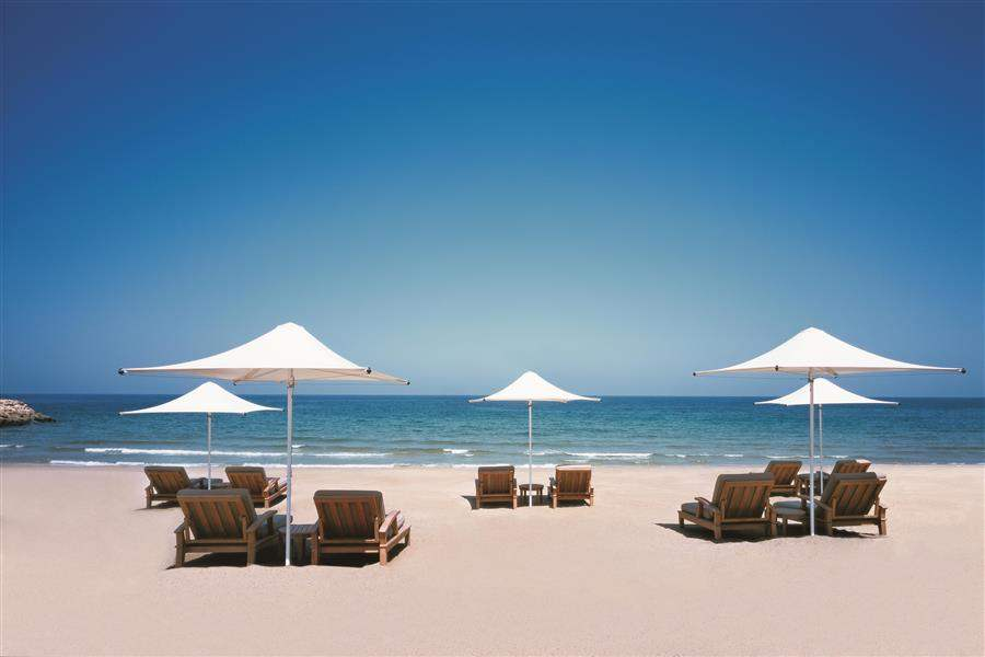 Shangri Las Barr Al Jissah Resort and Spa Al Waha Beach Loungers