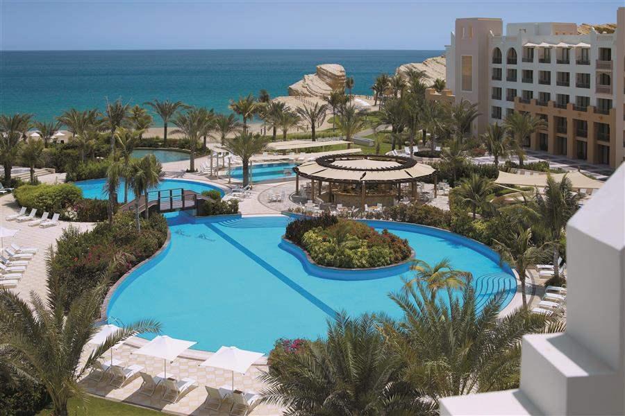 Shangri Las Barr Al Jissah Resort and Spa Al Waha Pool Overview