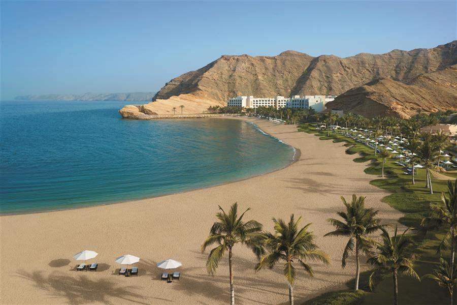 Shangri Las Barr Al Jissah Resort and Spa Al Waha Beach Overview