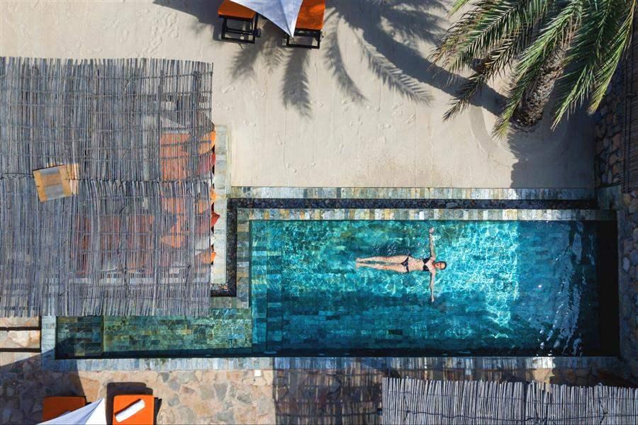 Pool Villa Suite Beachfront Aerial