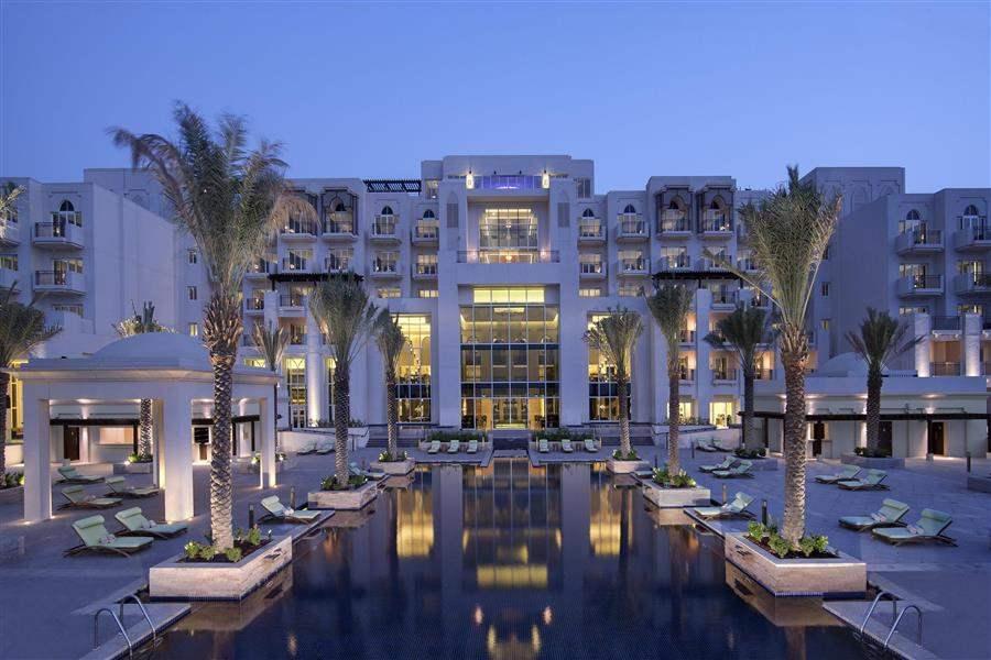 Anantara Eastern Mangroves Hotel and Spa Anantara Pool Exterior Night