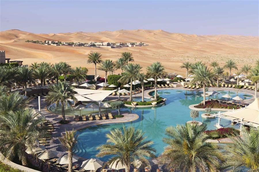 Anantara Qasr Al Sarab Pool Overview