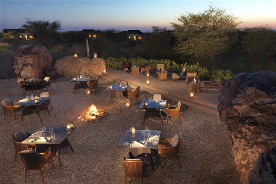Anantara Sir Bani Yas Island Al Sahel Villa Resort Boma Evening