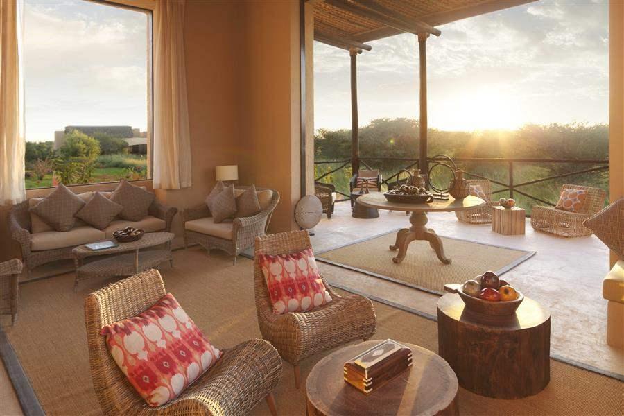 Anantara Sir Bani Yas Island Al Sahel Villa Resort General Living Area