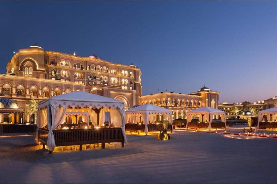 Emirates Palace Abu Dhabi Exteriorand Beach