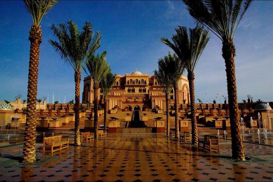 Emirates Palace Abu Dhabi Exterior Day
