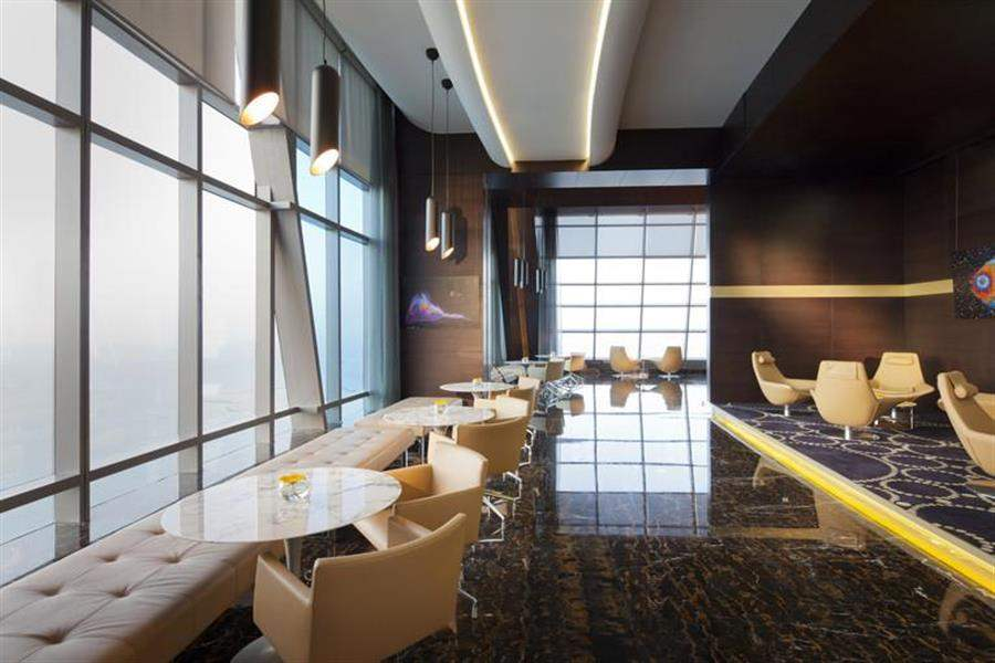 Jumeirahat Etihad Towers Lounge Area