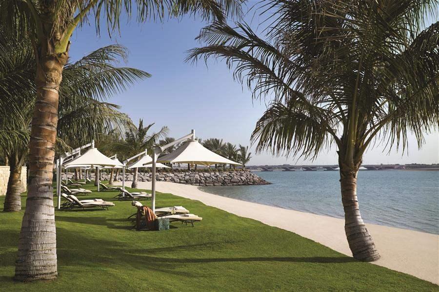 Shangri La Hotel Qaryat Abu Dhabi Beach Grass