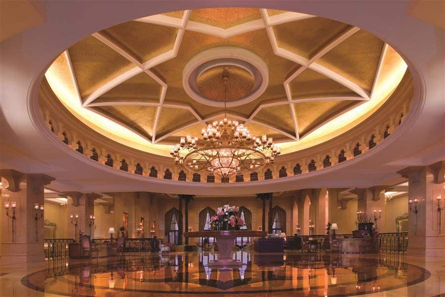 Shangri La Hotel Qaryat Abu Dhabi Lobby