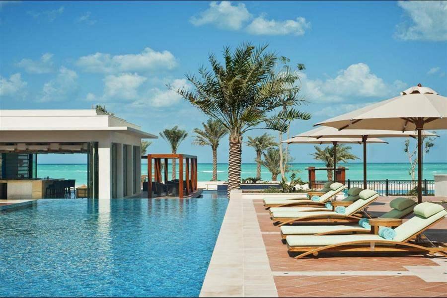St Regis Saadiyat Island Abu Dhabi Pool Loungers