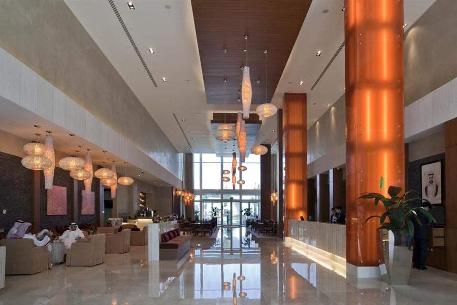Yas Island Rotana Lobby Reception