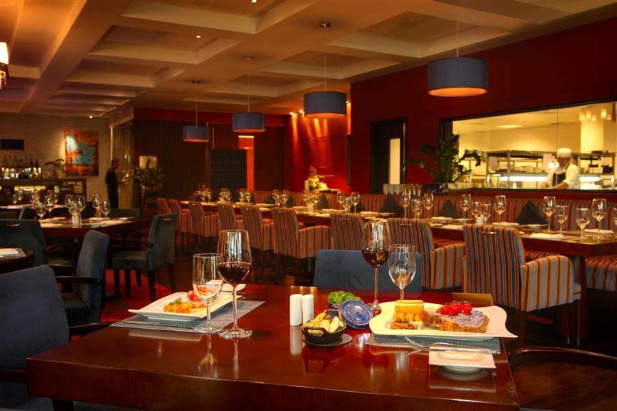 Yas Island Rotana Hotel Dinner
