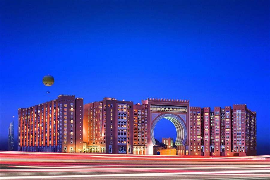 Movenpick Hotel Ibn Battuta Gate Dubai Exterior Night