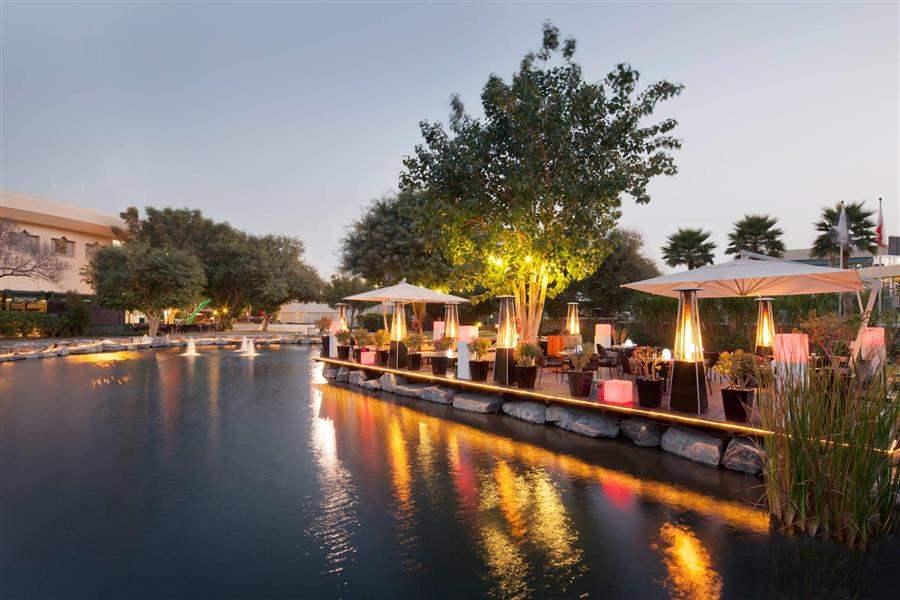 Jumeirah Creekside Hotel Nomad Deck Area