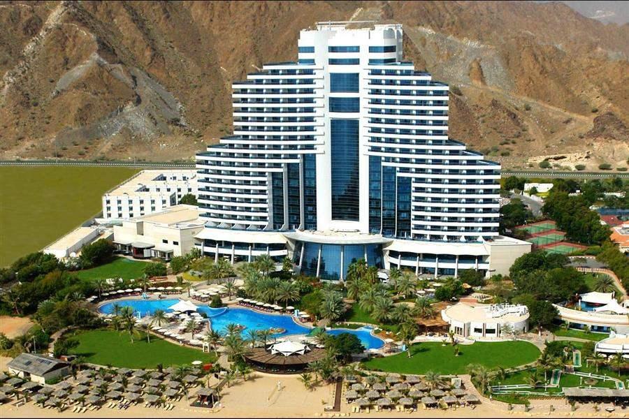 Le Meridien Al Aqah Beach Resort Resort Aerial