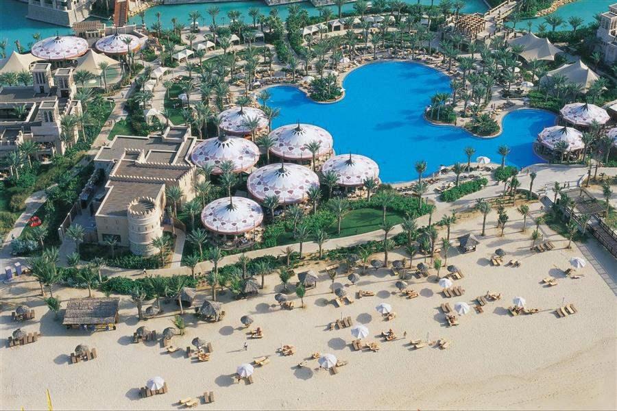 Al Qasr Madinat Jumeirah Resort Aerial