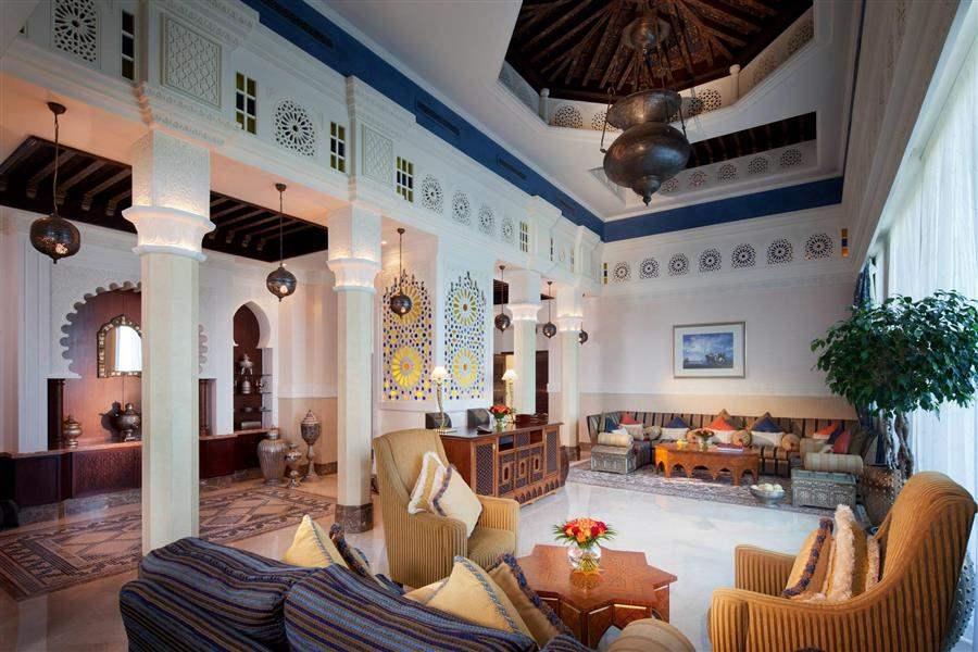 Al Qasr Madinat Jumeirah Royal Suite Living