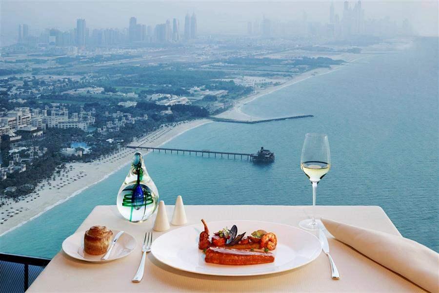 Burj Al Arab Diningwitha View