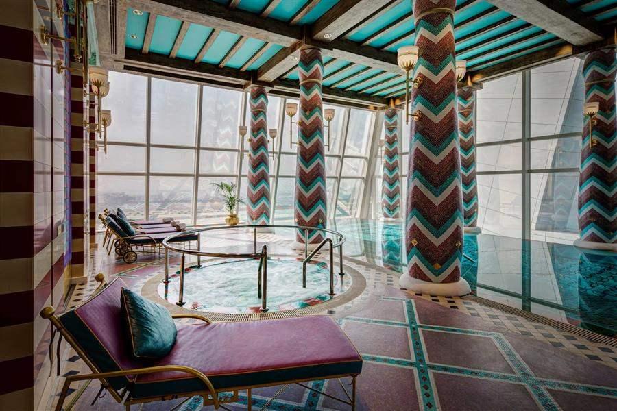 Burj Al Arab Spa Jacuzzi