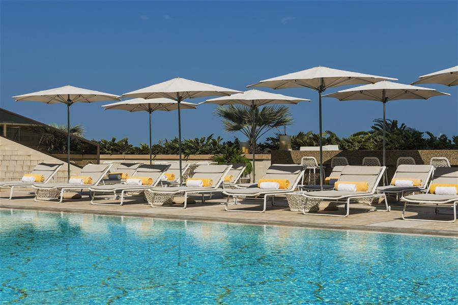 Grosvenor House West Marina Beach Pool Loungers