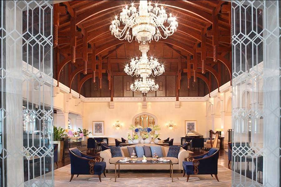 The Ritz Carlton Dubai Lobby