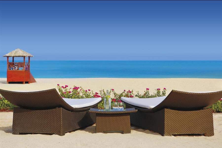 The Ritz Carlton Dubai Beach Lounging