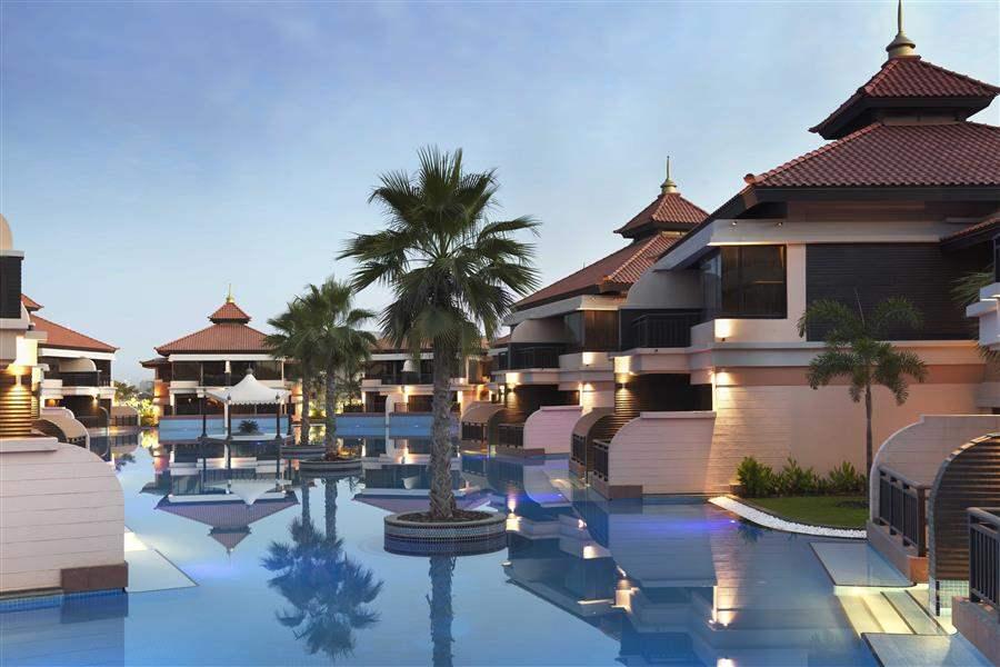 Anantara Dubaithe Palm Resort and Spa Room Exteriors