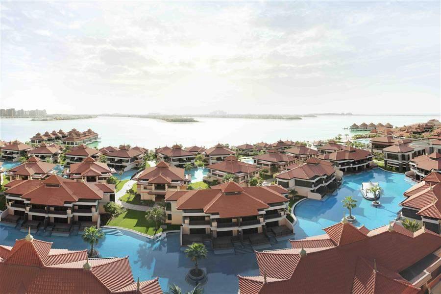 Anantara Dubaithe Palm Resort and Spa Resort Aerial