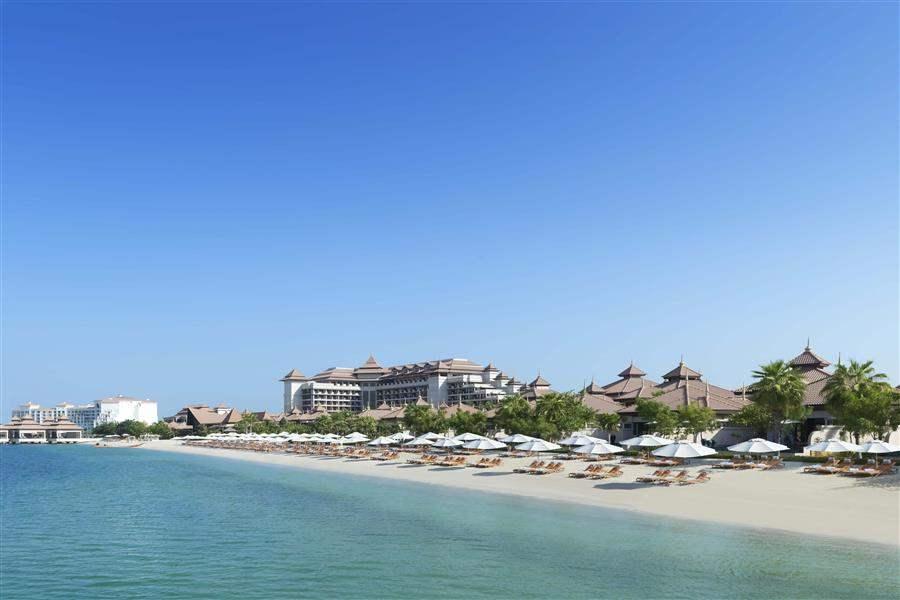 Anantara Dubaithe Palm Resort and Spa Beach