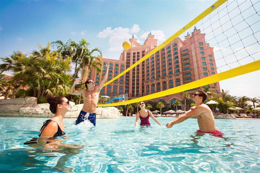 Atlantis The Palm Water Volleyball