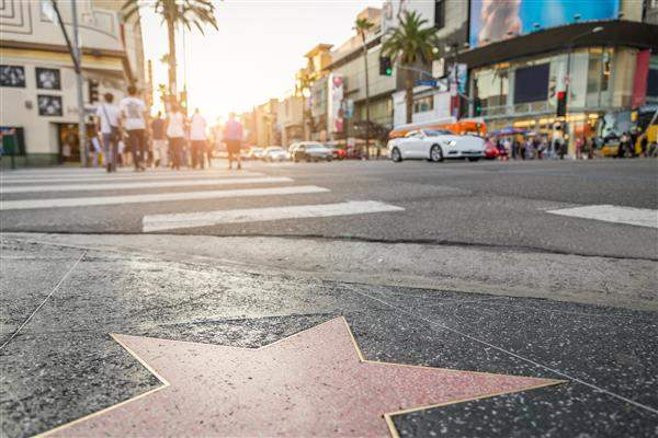 Hollywood Walk of Fame California