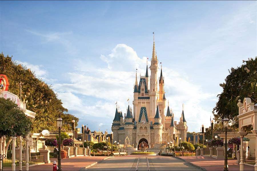 Walt Disney World Florida Castle Magic Kingdom