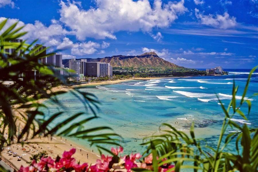 Waikiki Beach Honolulu Oahu Hawaii