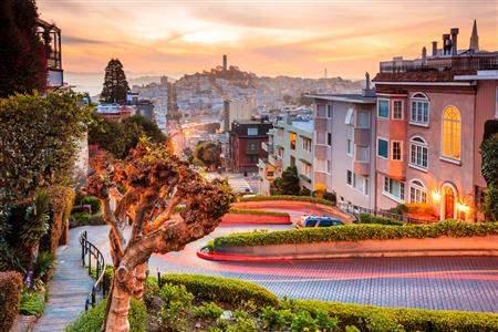 San Francisco California Lombard Street