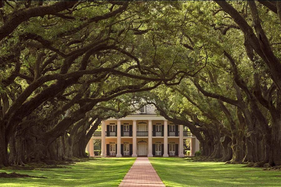Oak Alley Plantation Home Louisiana