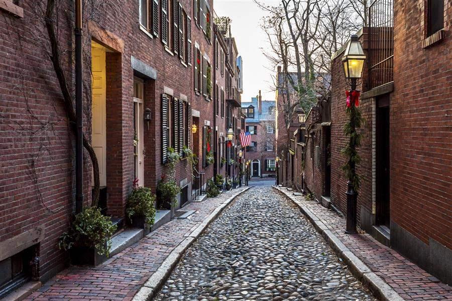 Boston Massachusetts Beacon Hill