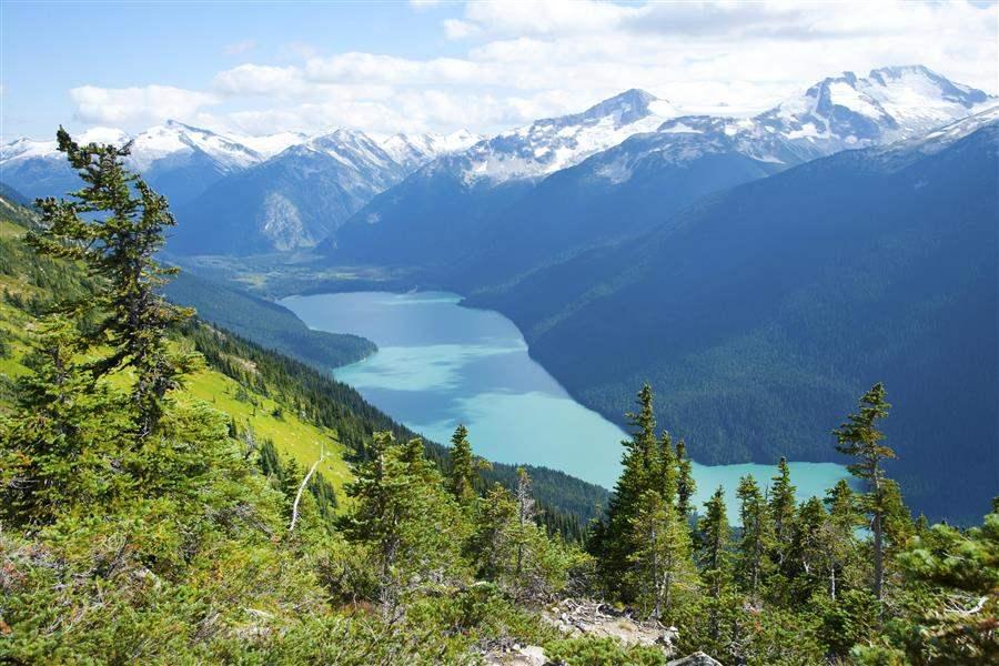 Cheakamus Lake view Whistler BC