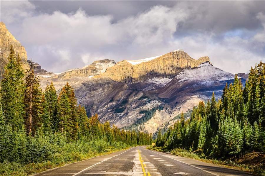 Icefield Parkway Jasper Alberta