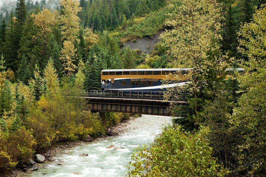 Rocky Mountaineer bridge
