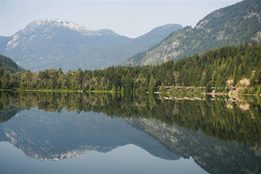 Rocky Mountaineer lake