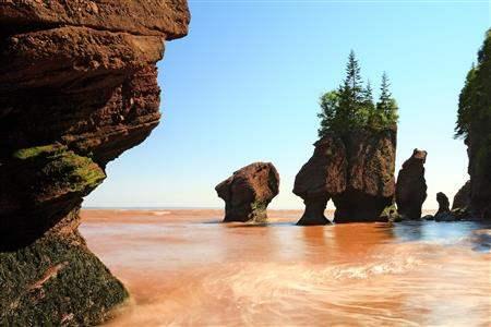 Bay of Fundy New Brunswick Canada