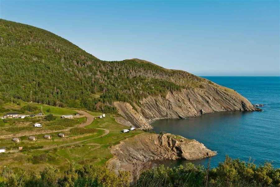 Cape breton Island coast Nova Scotia