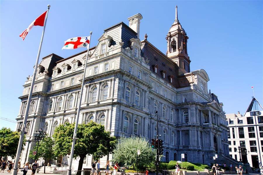 Montreal building Canada